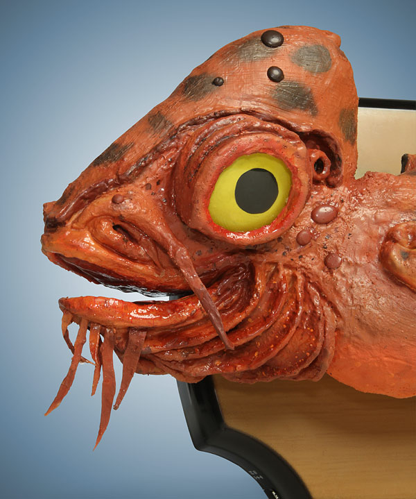 Star wars themed billy bass with admiral ackbar 39 s head for Star wars fish