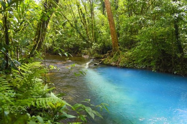 Scientists finally discover why this river has such an unreal shade of blue