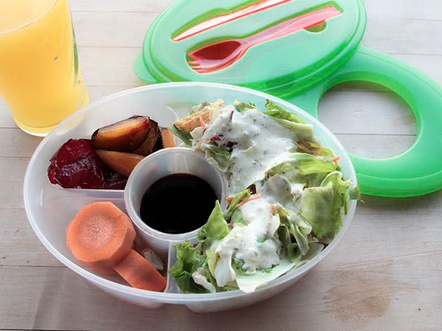 Salad to Go Container