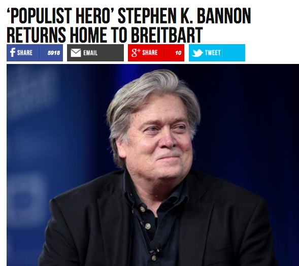 Steve Bannon declares war: 'I am going to crush the opposition'