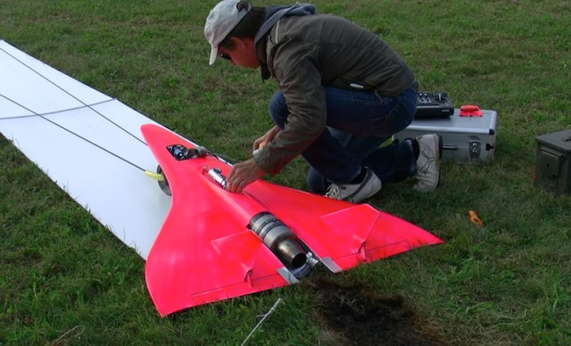 Ever seen a model jet fly at 451 miles an hour?