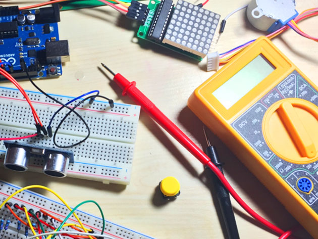 Want to learn how to build robots with Arduino?