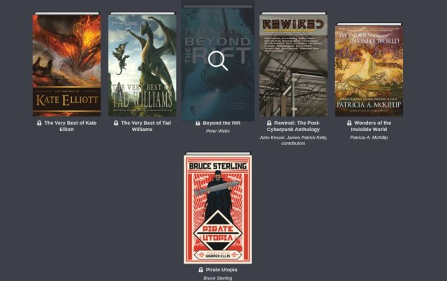 Humble Science Fiction and Fantasy Book Bundle: more than 20 DRM-free ebooks, Vandermeer, Bruce Sterling, Peter Beagle, Joe Lansdale, Alistair Reynolds, Nancy Kress and more!