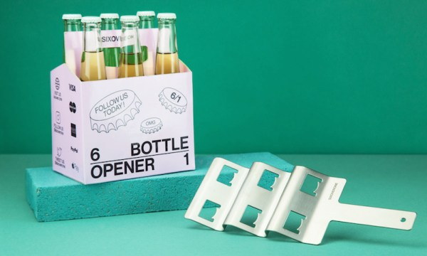Open a six-pack all at once with this indispensible gadget