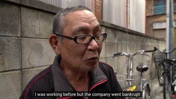 Watch: interviews with Japan's homeless