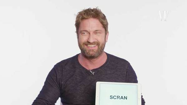 Learn Scottish slang with Gerard Butler