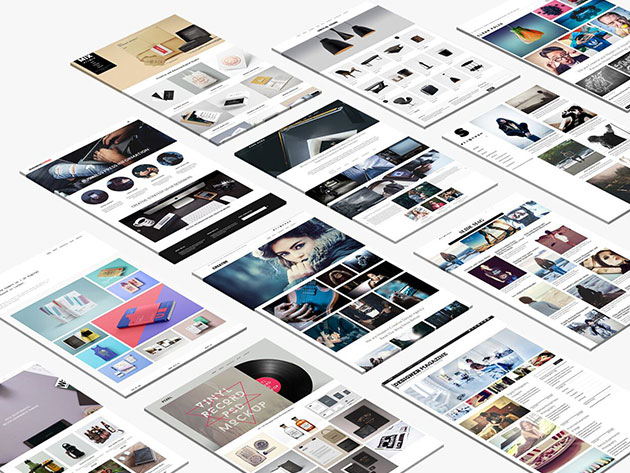 This WordPress theme library will make web design easier