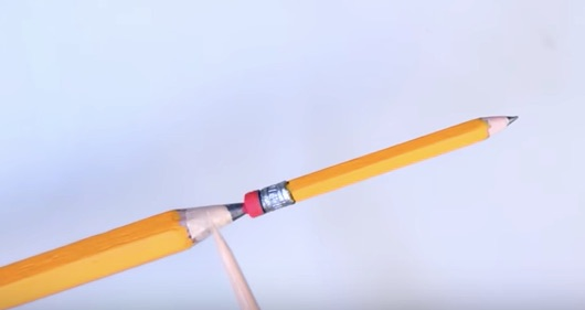 Watch Carving A Pencil From