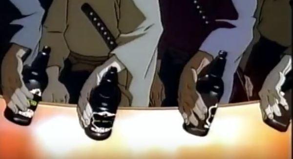 Cyberpunk anime ad for Murphy's Irish Stout (UK, 1997)