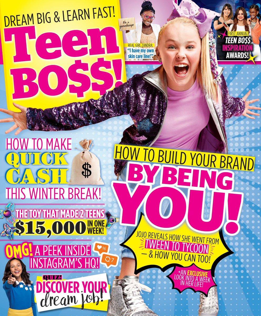 Teen boys magazins for teen girls