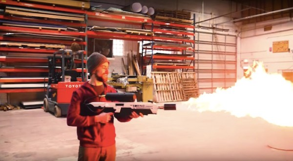 Build your own Boring Company flamethrower!