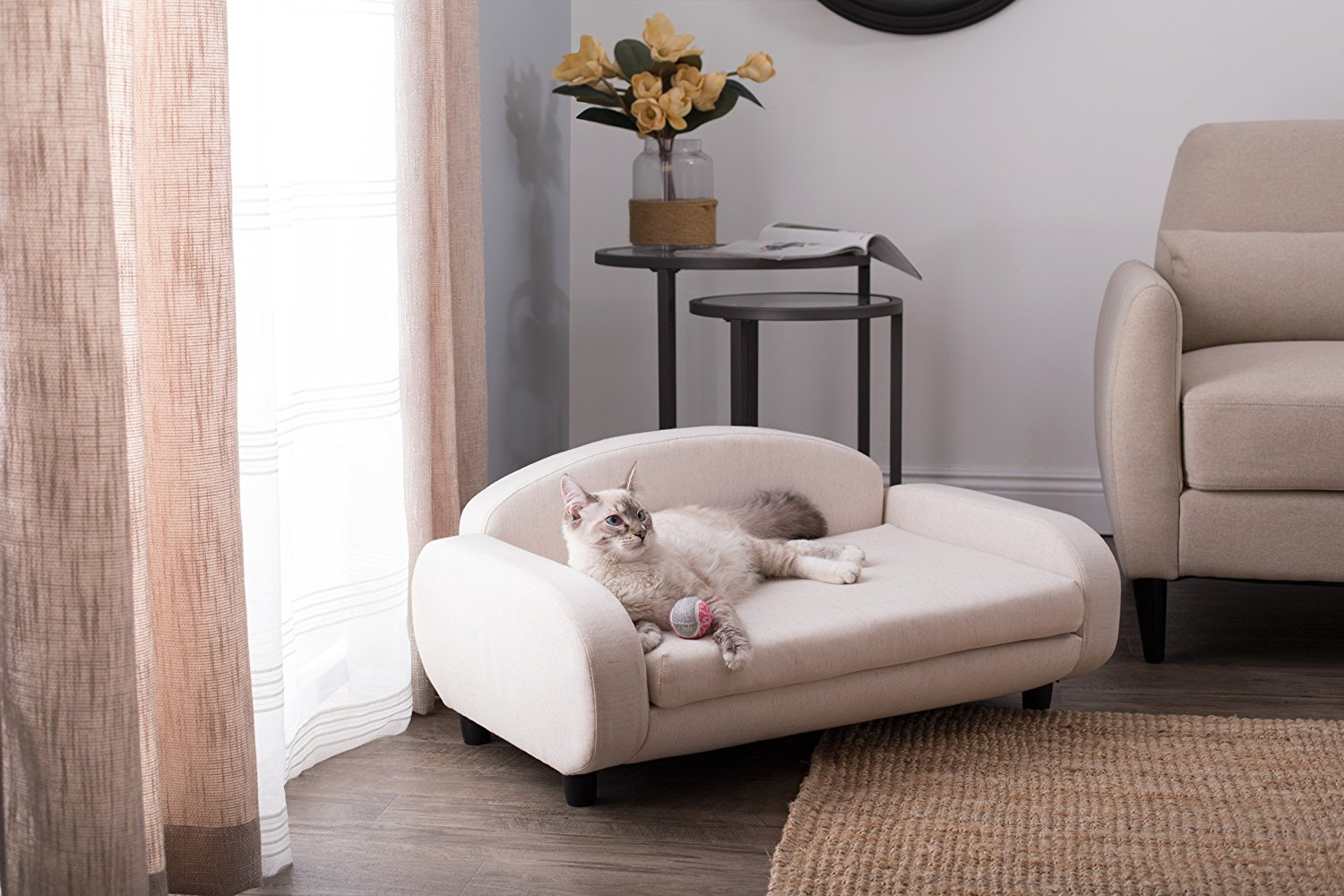 Lovely ... Cat Sofa But Are Looking For Something A Bit More Economical (and Less  Over The Top), Check Out The Paws U0026 Purrs Sofa Bed For Cats (and Other  Small To ...