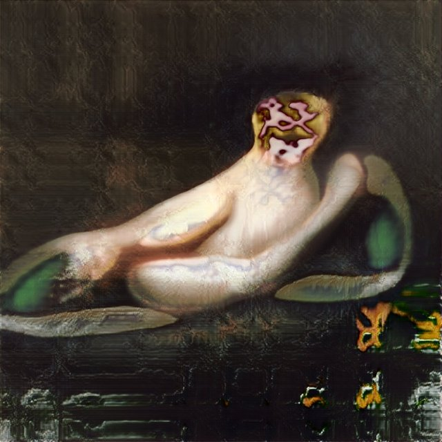 Robbie Barrat's AI-generated nude paintings make Francis Bacon look like a genteel pre-Raphaelite