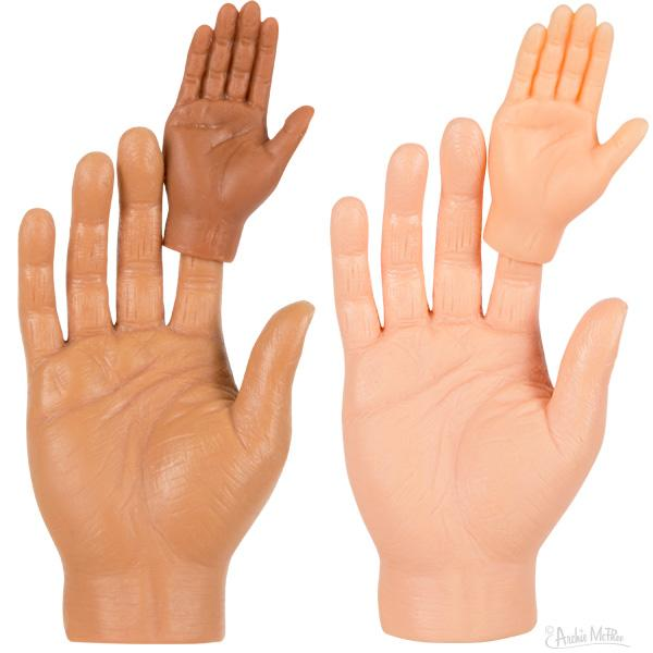 384a27eff If you need A LOT of them, they are available in bulk too (144 mixed skin  tones/left and right hands for $59.95). They're from Archie McPhee, of  course.