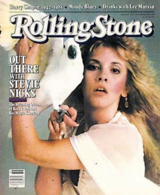 Rolling Stone Photo Shoot Just After The Release Of Her First Solo Album Bella Donna While Nicks Is Having Makeup Done Someone Plays An Early Demo