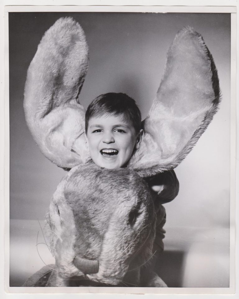 Intrepid Vernacular Photography Collector Robert E Jackson Curated A Delightful Selection Of Creepy Fun And Funny Vintage Photos The Easter Bunny