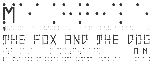 typeface elegantly combines braille and english characters boing boing