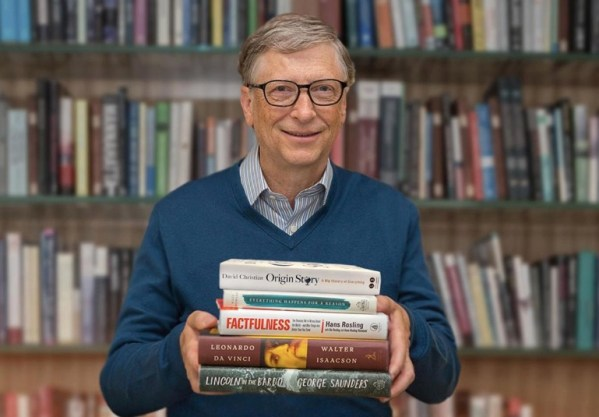 Bill Gates suggests these five books for summer reading
