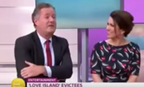 Watch Piers Morgan try to embarrass a reality TV star but make an ass of himself instead