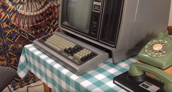 Log onto a BBS 1979-style with a TRS-80 and landline modem