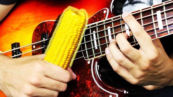 Playing Korn with corn