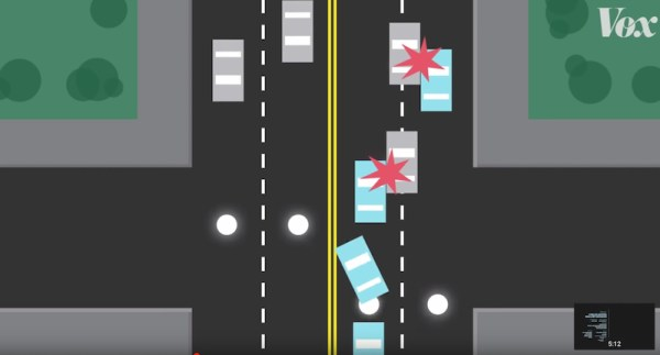 Great explainer on how bike-friendly road diets make