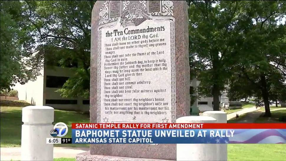 Satanic Temple statue unveiled at Arkansas State Capitol Screen-Shot-2018-08-17-at-9.44.14-AM