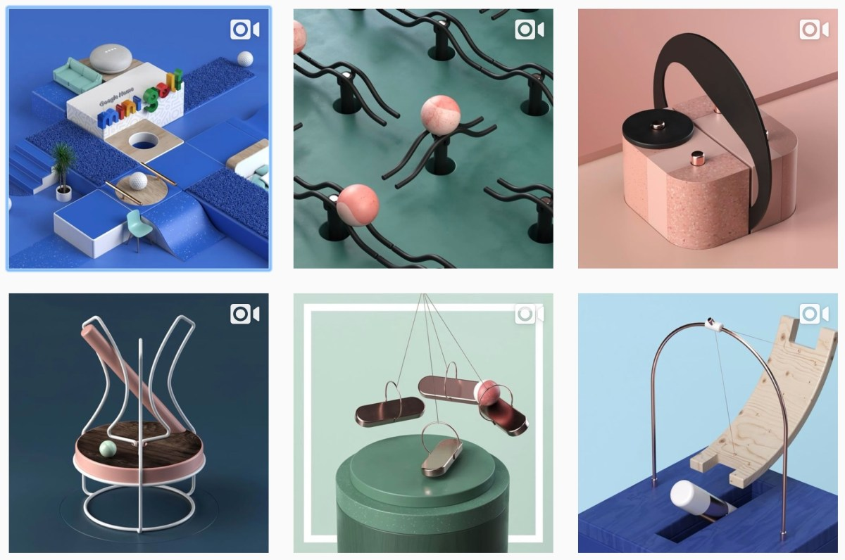 Instagram account filled with mesmerizing animated contraptions / Boing Boing