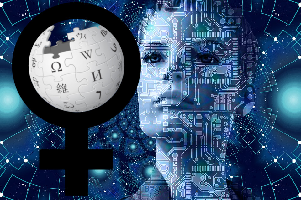 A machine learning system trained on scholarly journals could correct Wikipedia's gendered under-representation problem