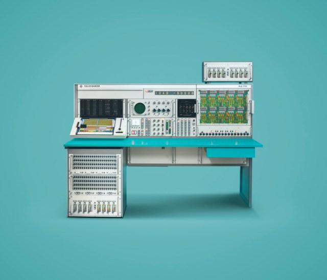 Gorgeous, stylized portraits of vintage computing hardware