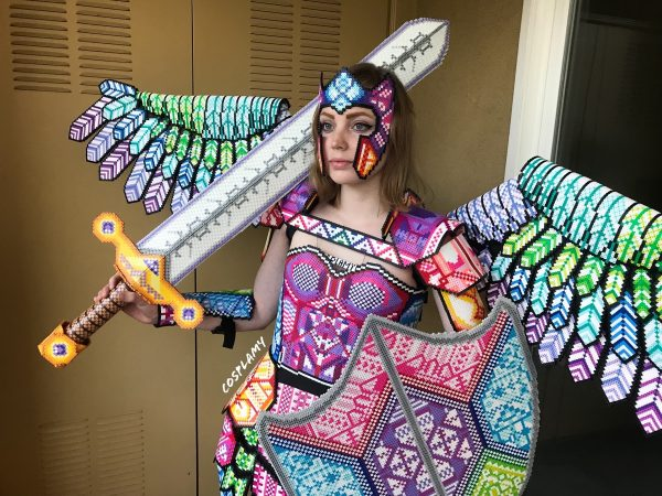 The Art of Cosplay: 'Fuse Bead Armor,' by Cosplay Amy