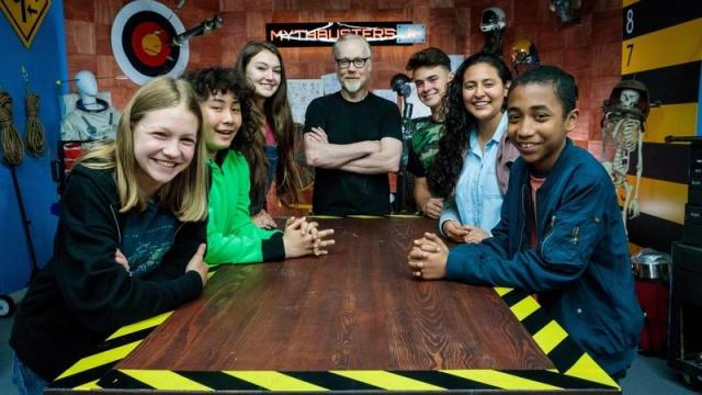 WATCH: Two New Adam Savage #MythbustersJr episodes, 'Demolition Dominoes' and 'Gravity Defying Carl'