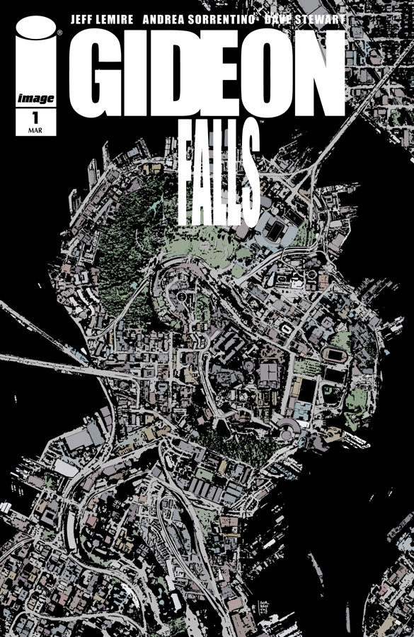 Jeff  Sweet Tooth  Lemire s new horror comic Gideon Falls is spooky af