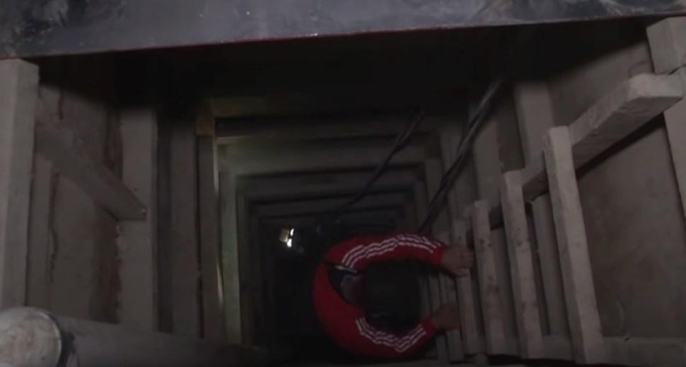 Inside El Chapo s secret tunnels