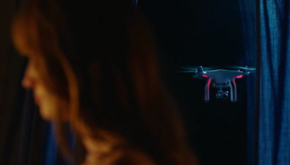 Trailer for  The Drone,  a horror film about a sentient flying drone