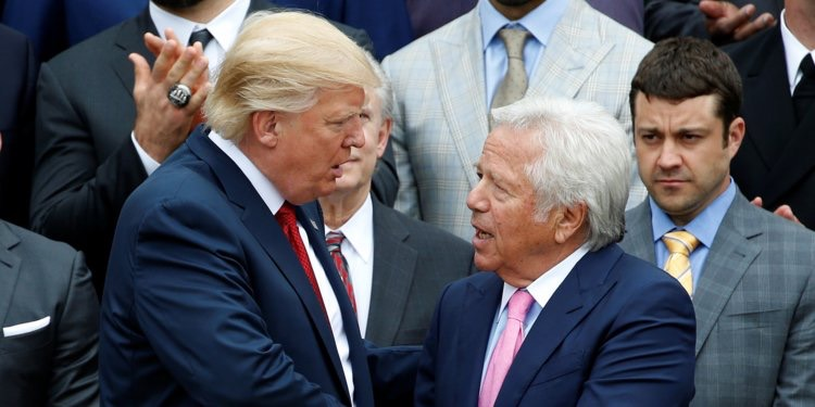 Robert Kraft allegedly paid for sex act on morning of AFC Championship game between New England Patriots and Kansas City Chiefs