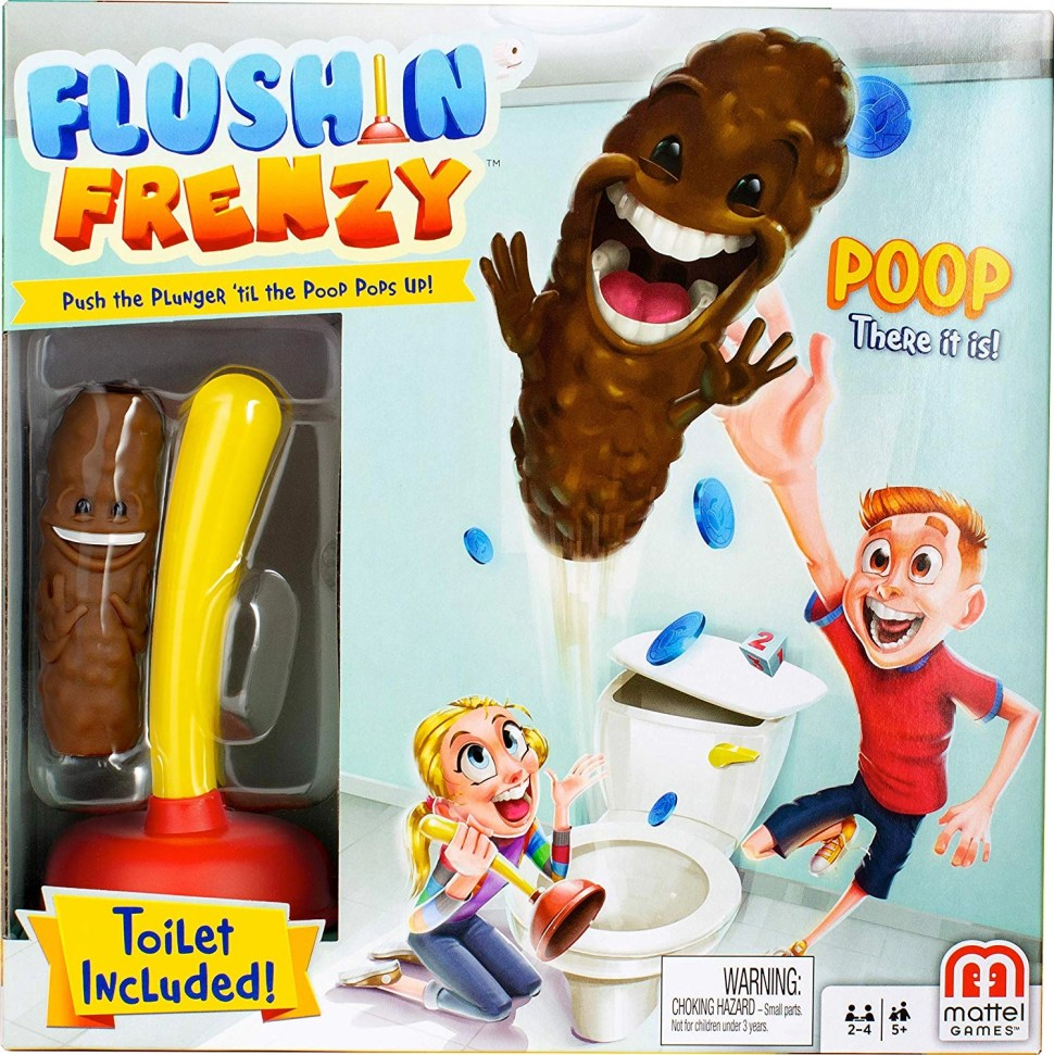 The worst toy: Flushin  Frenzy