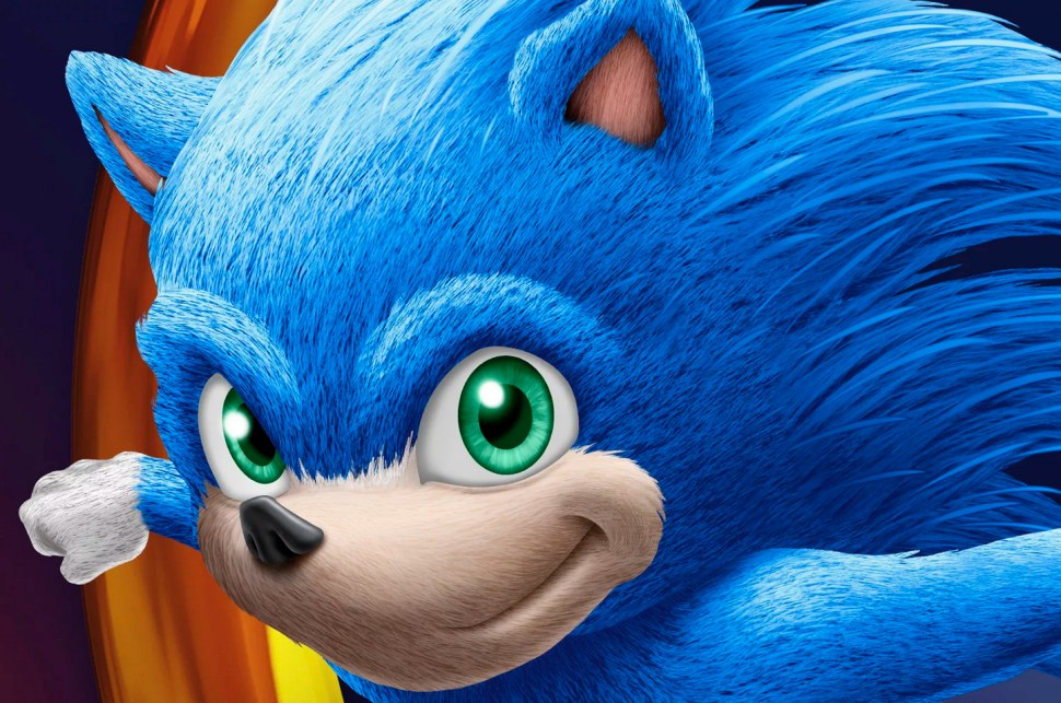 Leaked Sonic the Hedgehog movie design looks like a dollar-store cereal mascot