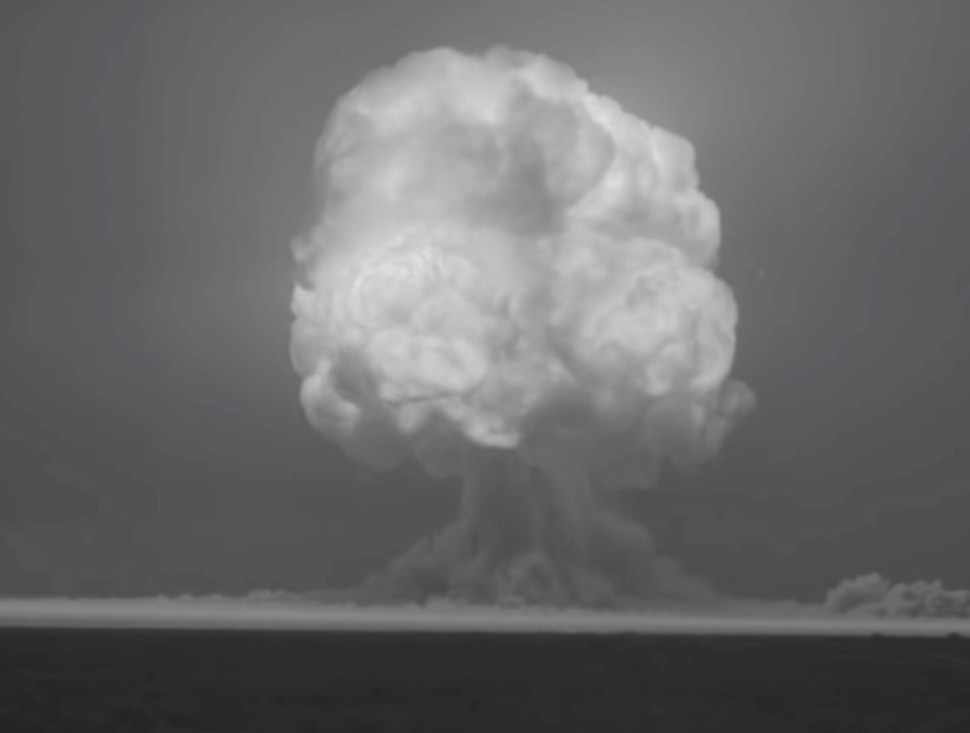 Watch an HD restoration of the first detonation of a nuclear bomb