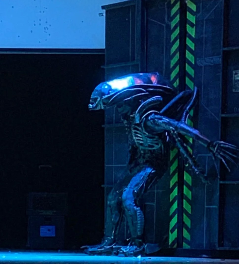 "High school stages ""Alien: The Play"""