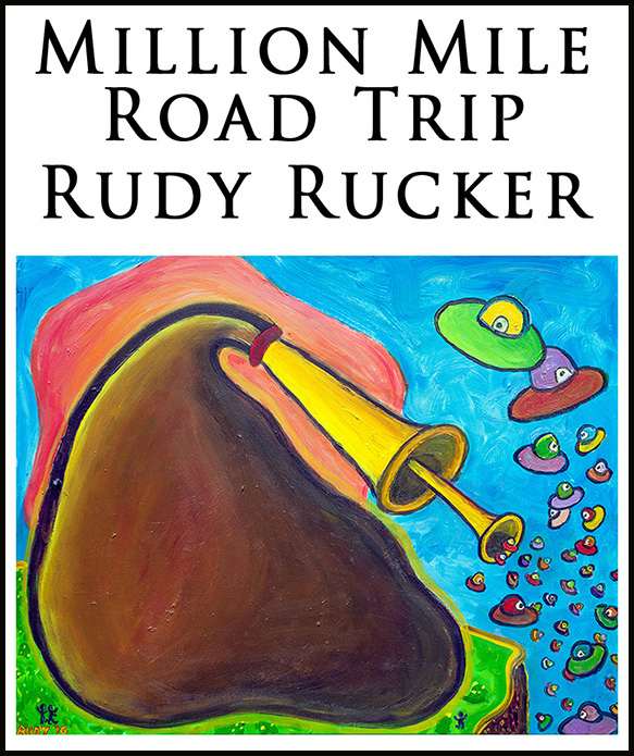 Support Rudy Rucker's new science fiction novel!