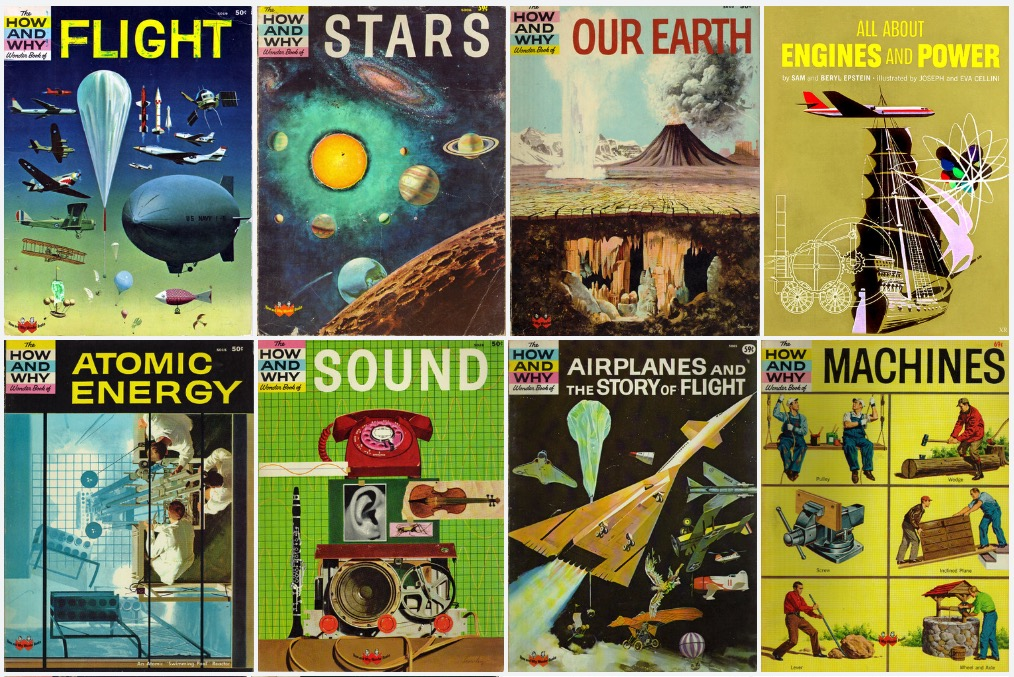 Gallery of great old How and Why Wonder Books