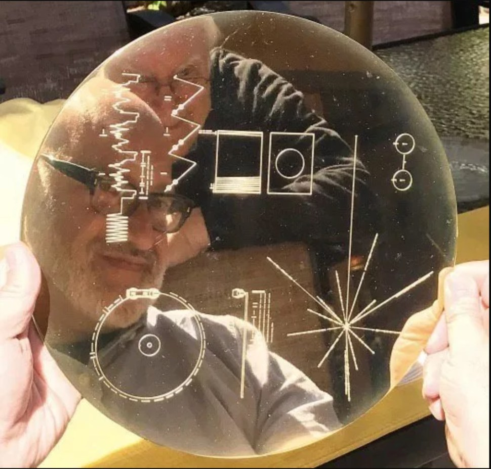 On Adam Savage s Tested:  Star Trek: The Motion Picture  and the Voyager Golden Record