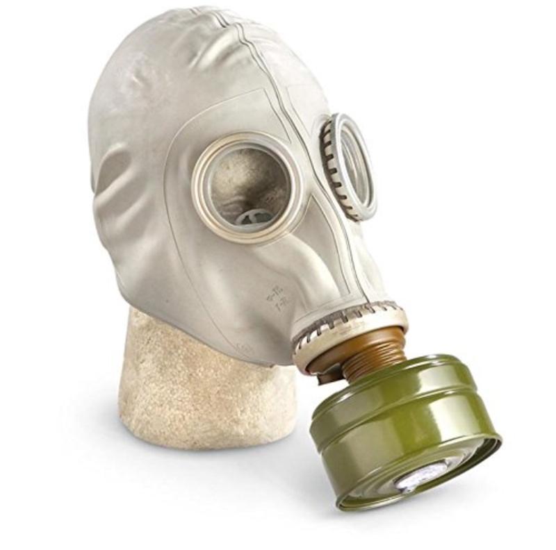 Cold War Soviet gas masks available on Amazon