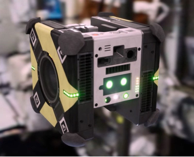 Cute, floating cube robots arrive at the International Space Station