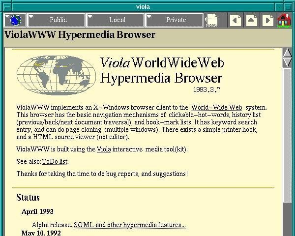Remembering the pre-Netscape browsers