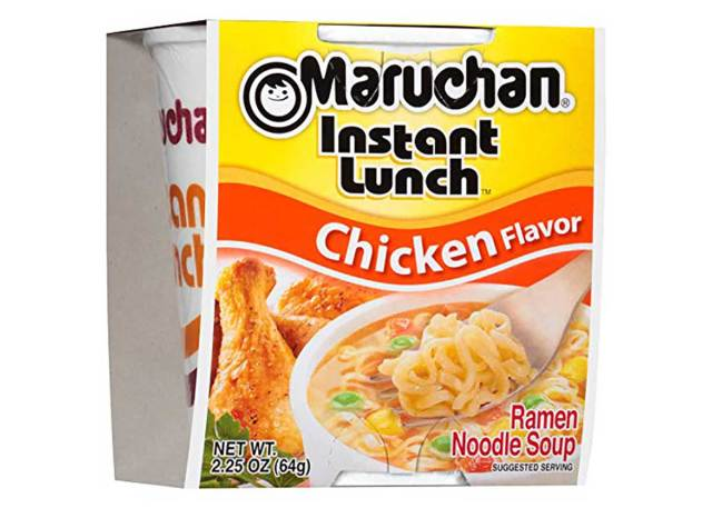 Maruchan noodles are an almost free lunch