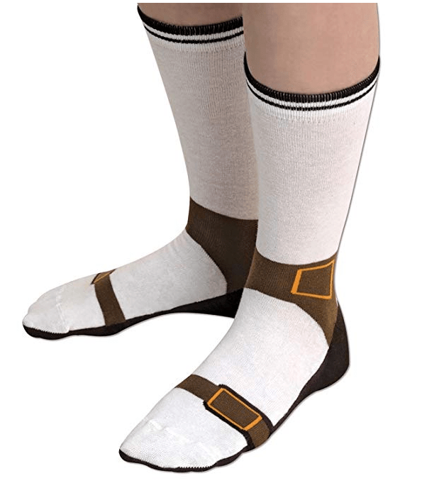 Sandal socks make you look like you're wearing Birkenstocks