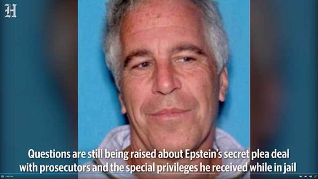Once again, the US justice department treats pedophile Jeffrey Epstein like a saint