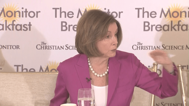 Pelosi: 'If the goods are there, you must impeach'